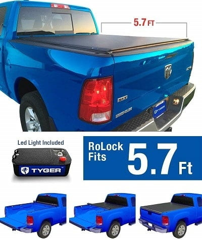 Tyger Auto RoLock Low Profile Roll Up Tonneau Cover