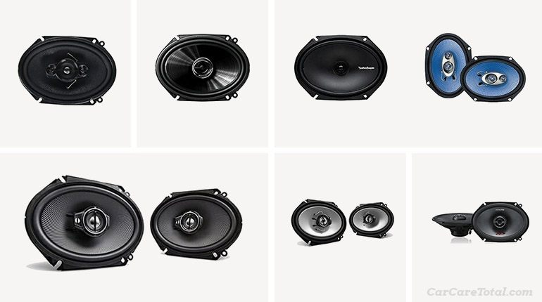Best 6-8 Car Speakers